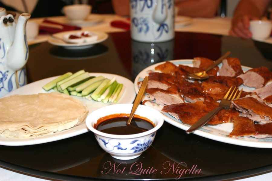 Kensington Peking restaurant Peking Duck