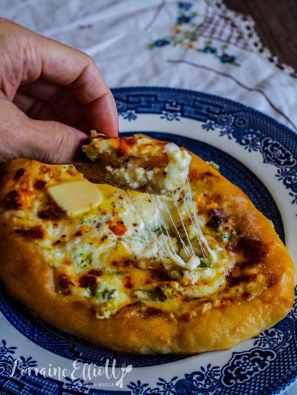 Khachapuri Georgian Cheese Bread