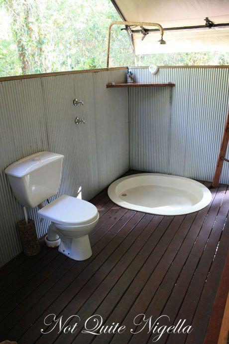 paperbark camp shower
