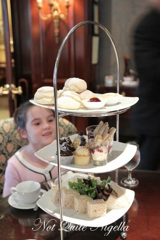 sir stamford kids high tea