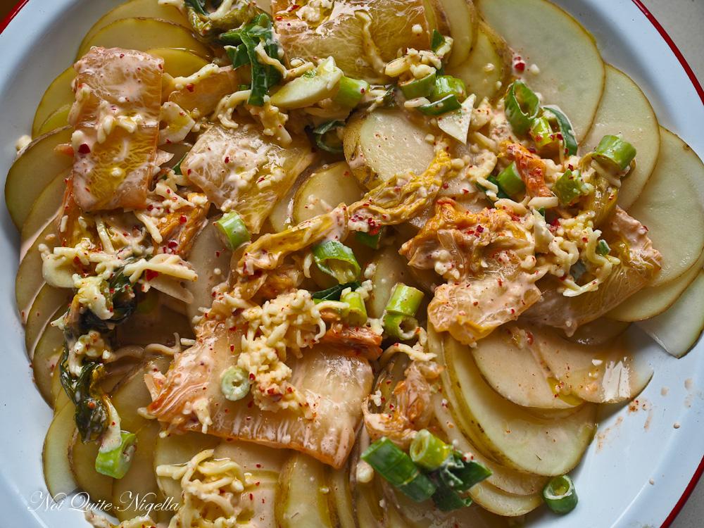 Kim Chi Chicken and Potatoes