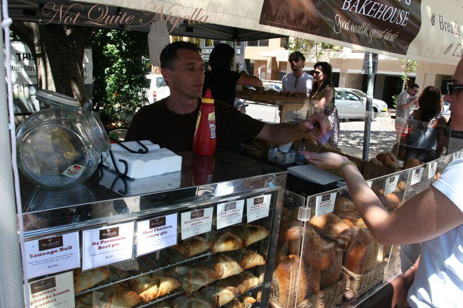 Kirribilli markets Shepherd's bakehouse