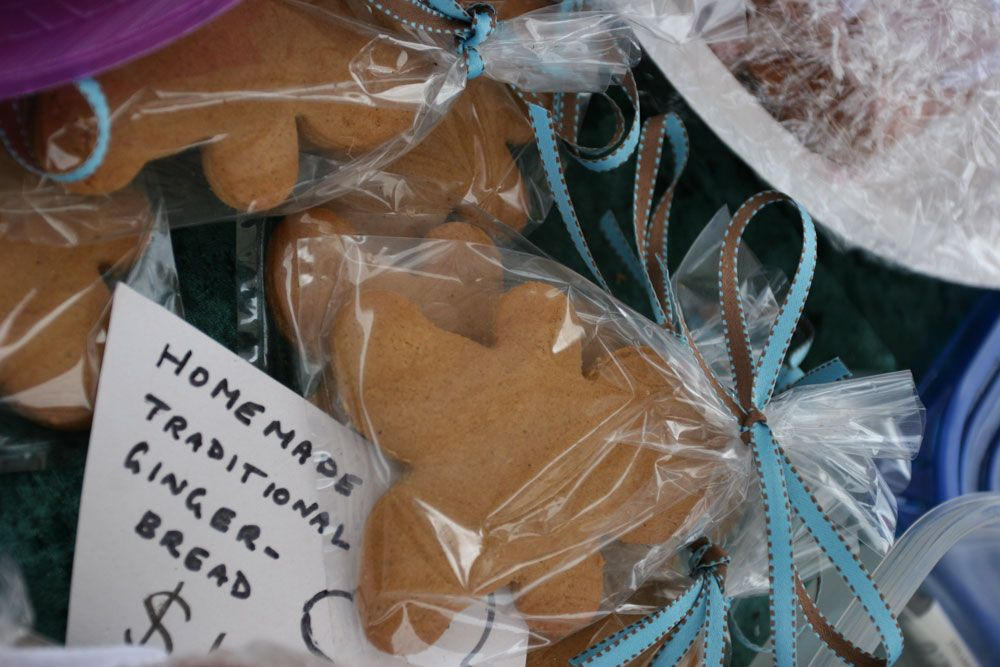 Kirribilli markets gingerbread at school fete