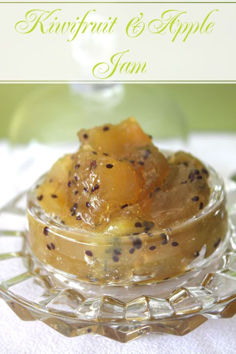 Kiwifruit and Apple Jam