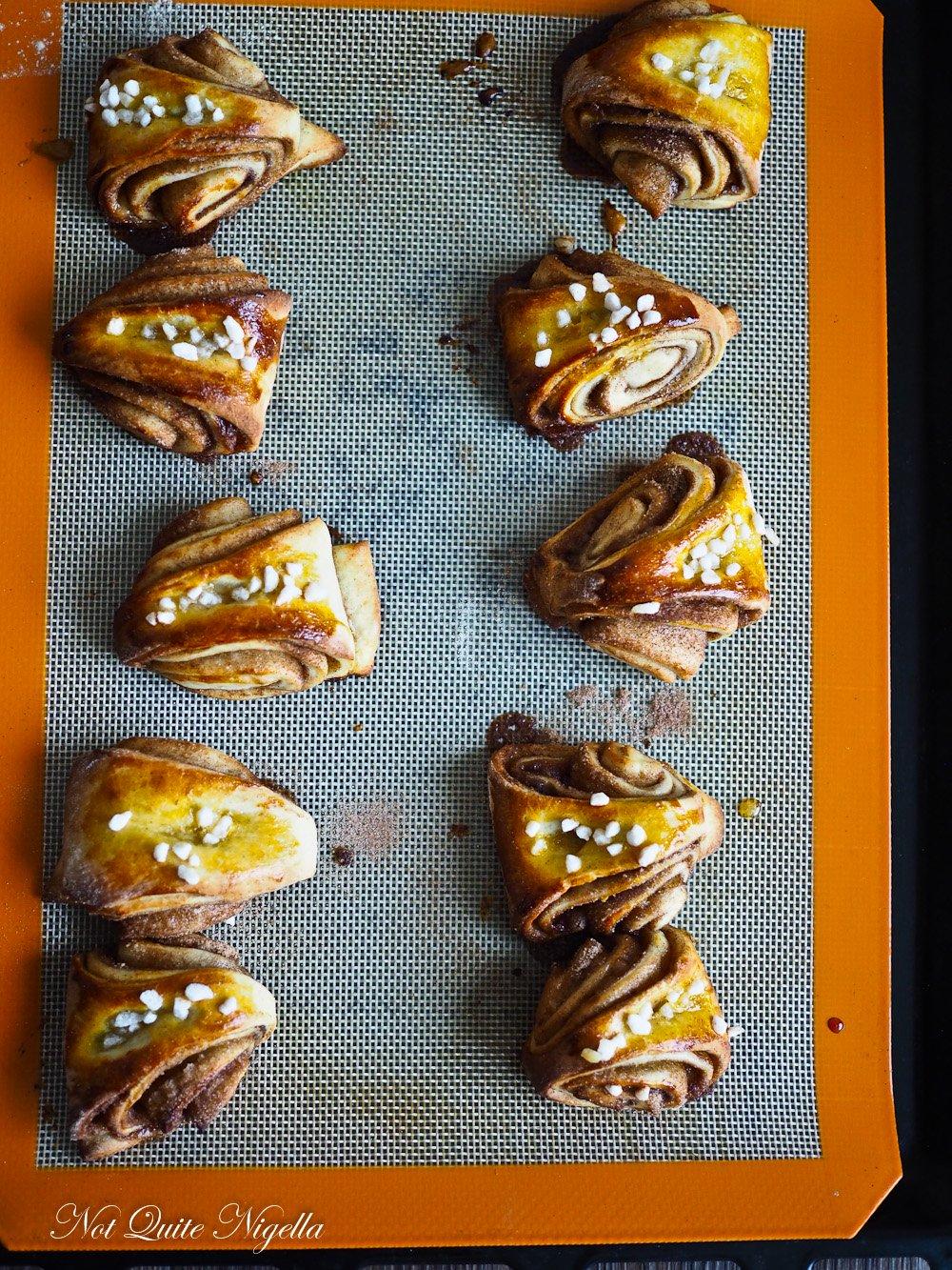 Korvapuusti Finnish Cinnamon Cardamom Buns