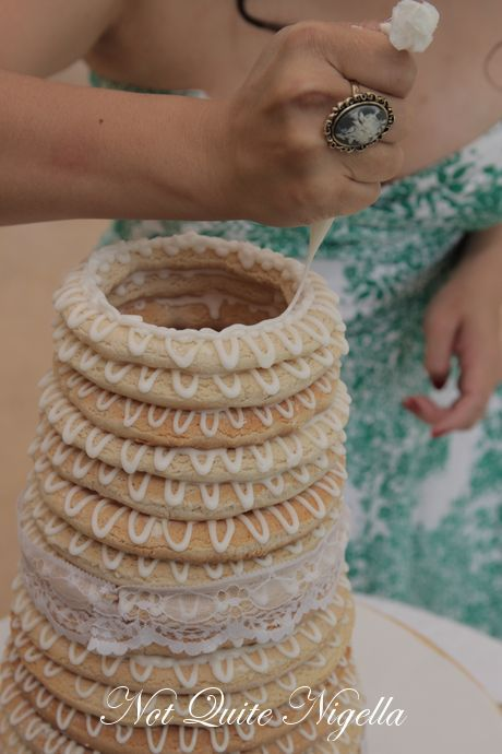 traditional swedish wedding cake recipe kransekake a wedding cake not quite nigella 21161