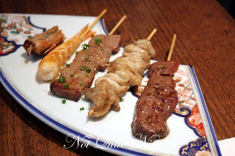azuma kushiyaki  kushi plate 1