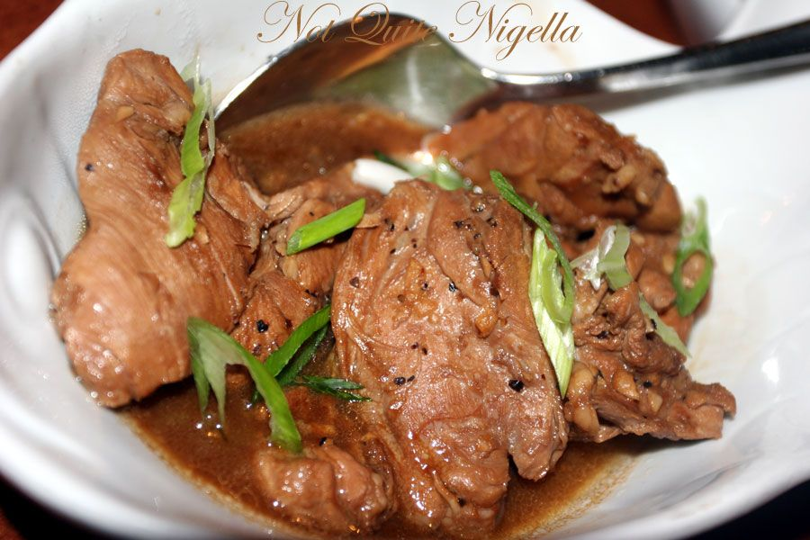 La Mesa Philippine Cuisine At Dee Why Chicken Adobo