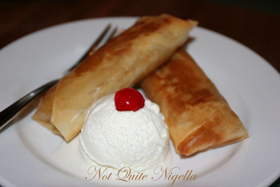La Mesa Philippine Cuisine At Dee Why Turon