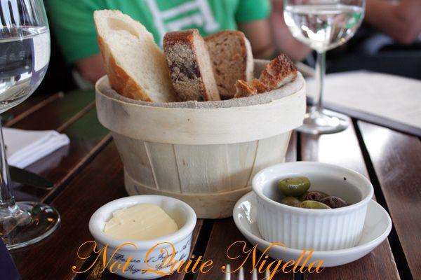 La Pont de la Tour bread butter