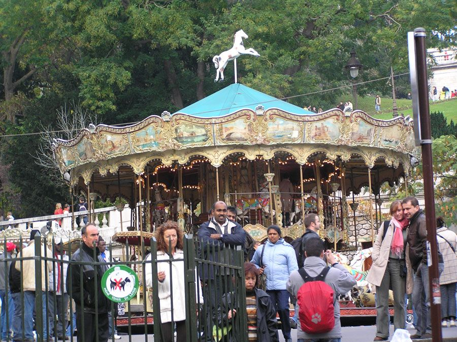 Paris-one of my carousels in Paris