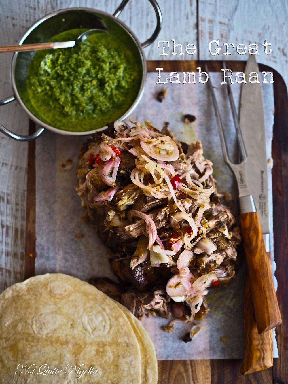 Lamb Raan Recipe