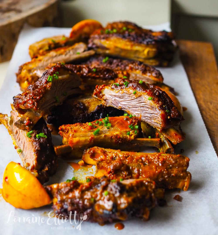 Lamb Ribs Kasundi Recipe