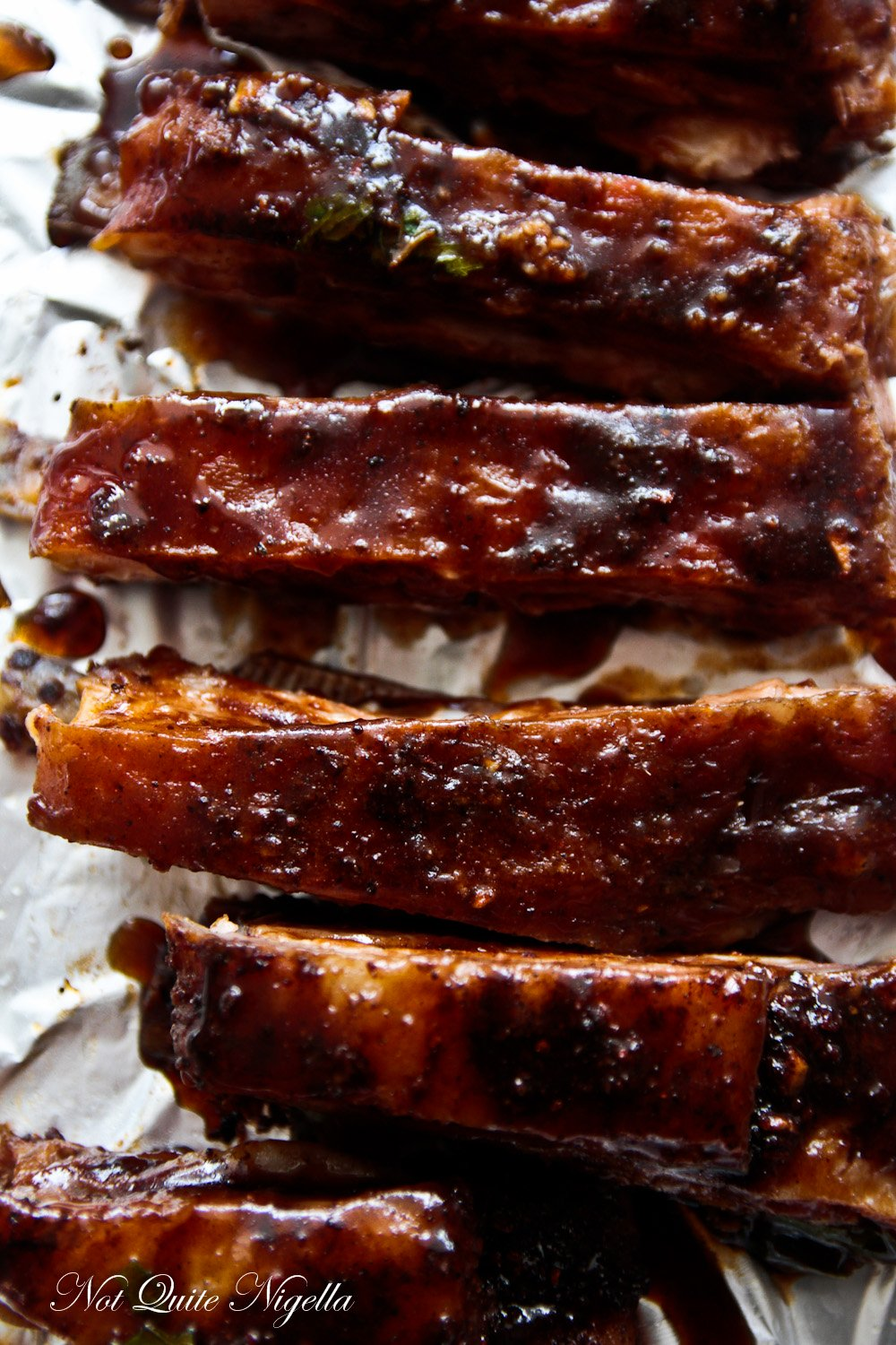 Sticky Spicy Lamb Ribs Not Quite Nigella