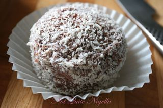 Lamington Angel cupcakes from Women's Weekly Cupcakes