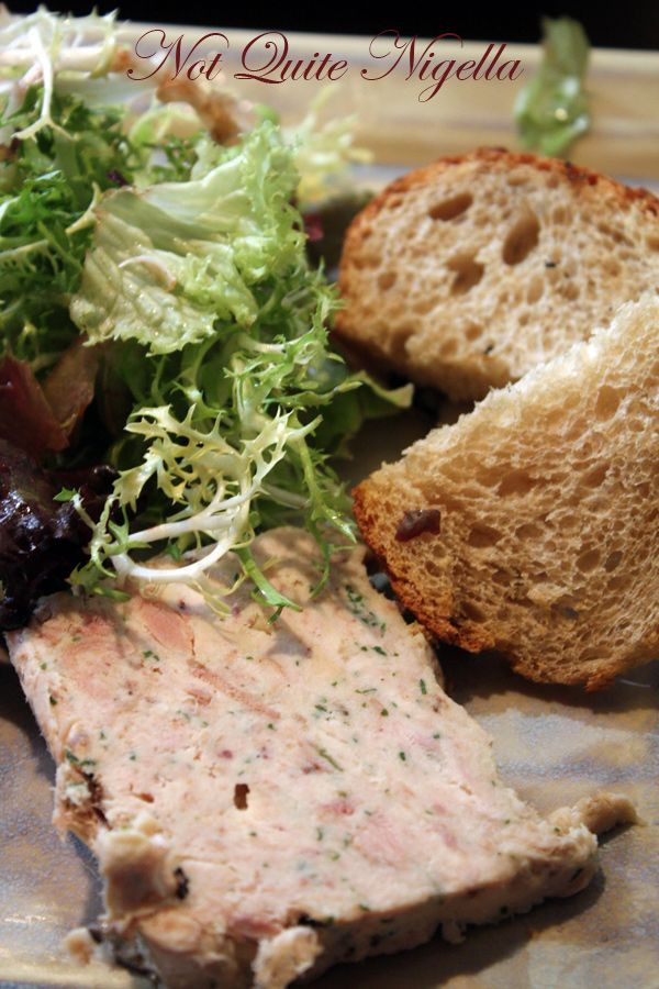 Le Mesturet rabbit terrine