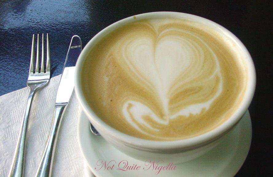 Le Petit Crème at Darlinghurst Cafè au lait