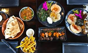 Lebanese Street Food at Le Souk Beirut, Surry Hills