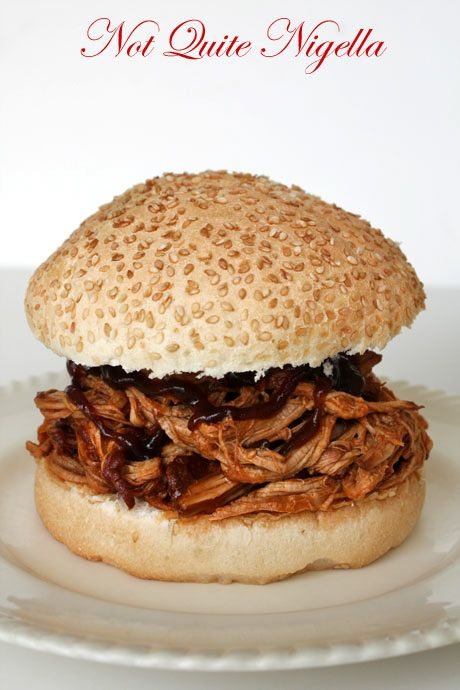 Lean Pulled Pork Sandwich