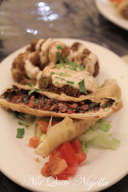 lebanon and beyond, randwick, vegetarian