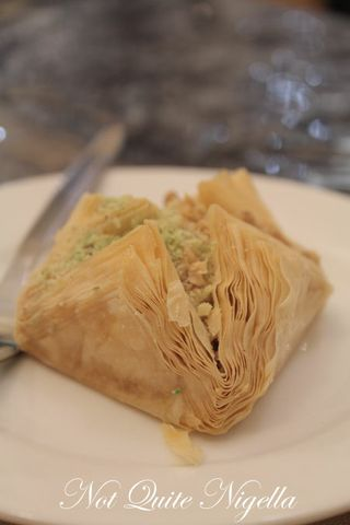 lebanon and beyond, randwick, baklava