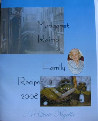 Legacy: The Raimo family cookbook