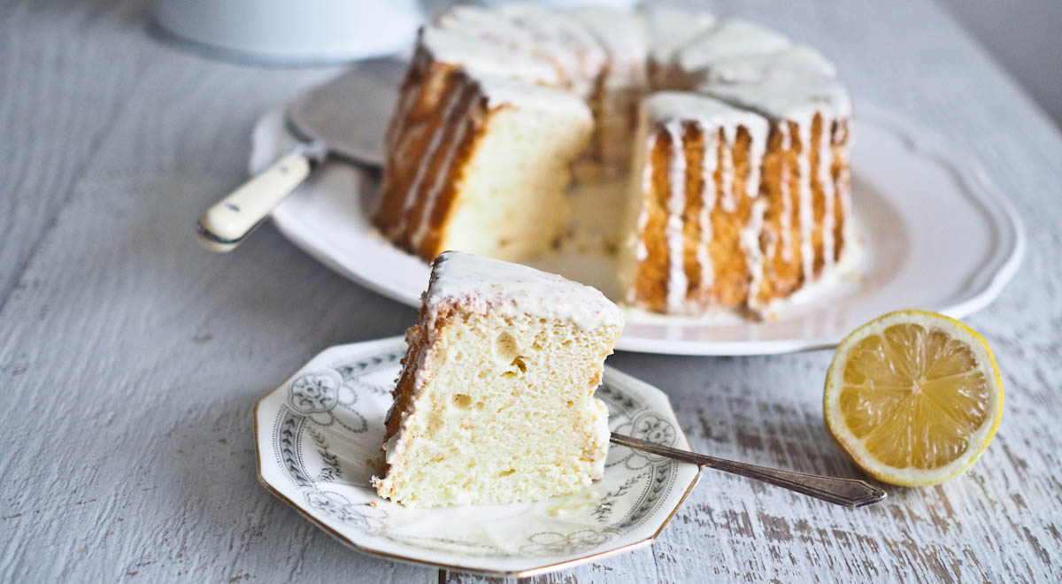 Lemon Chiffon Cake Not Quite Nigella