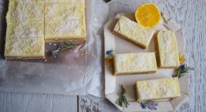Simply the Zest! No Bake Lemonade Coconut Bars!