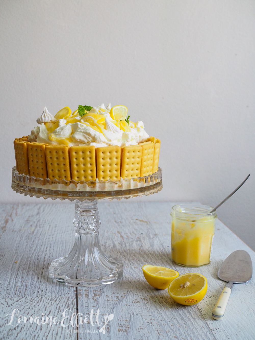 Lemon Delicious Cheesecake