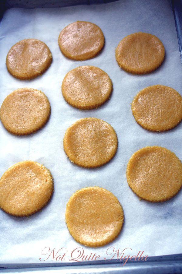 Lemon Polenta Sandwich Cookies