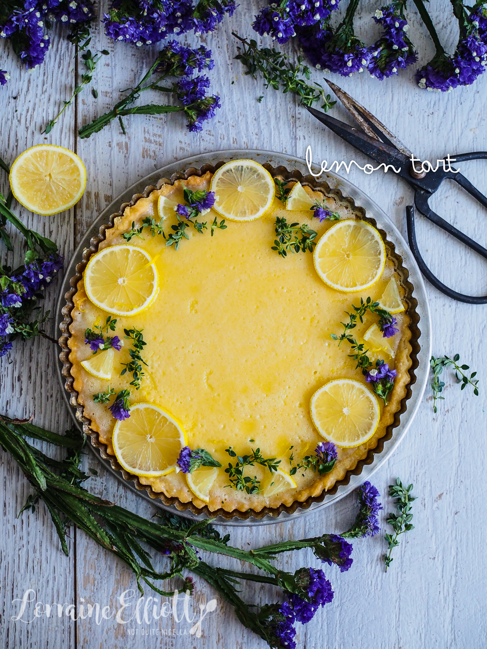 Lemon tart recipe