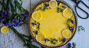 Short, But Sweet: Simple Lemon Tart
