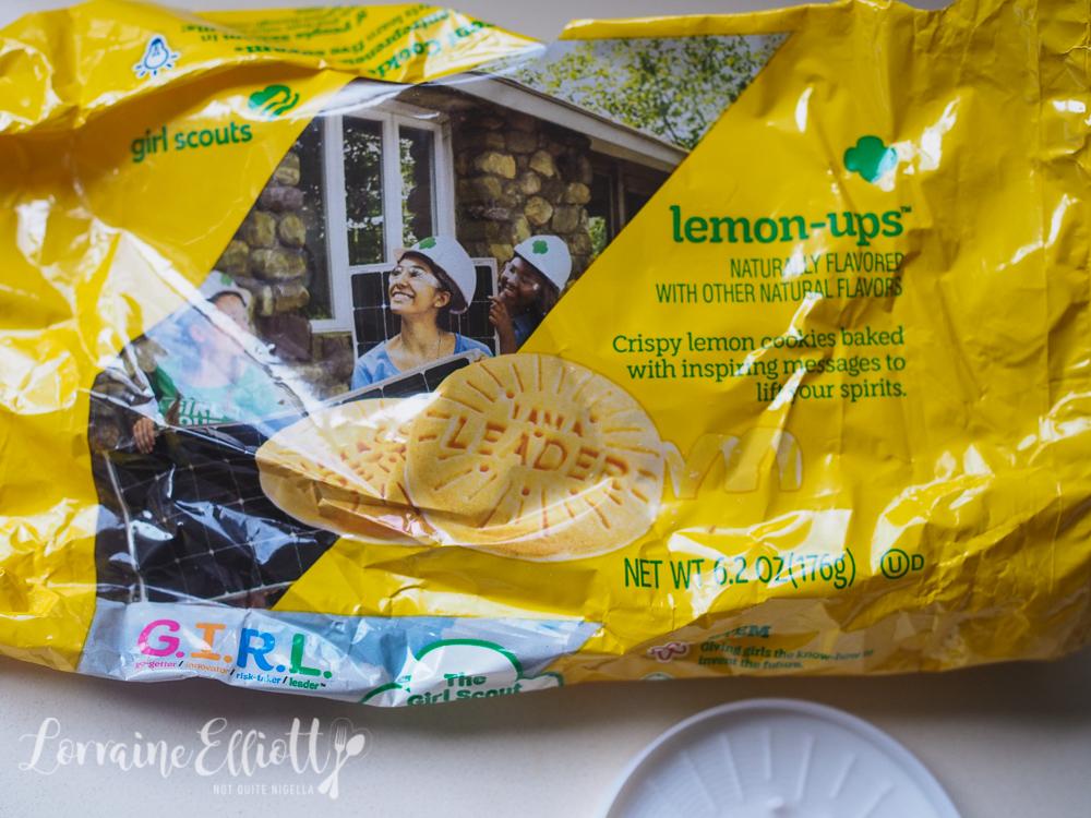 Lemonade Girl Scout Cookies Lemon Ups