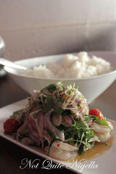 lets eat, marrickville, review, lemongrass salad