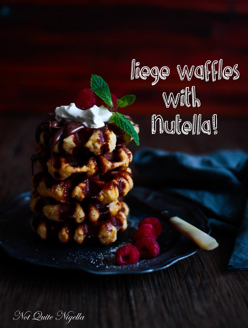 Best Liege Waffle Recipe