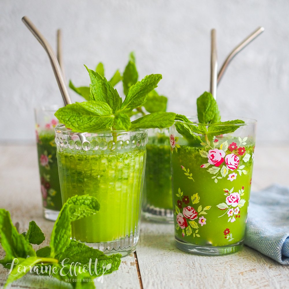 Mint Lemon Slushie Limonana