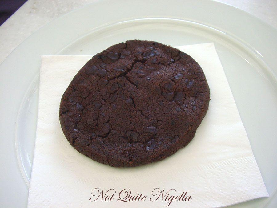 Lindt Chocolat Café at Darling Harbour Chocolate sable