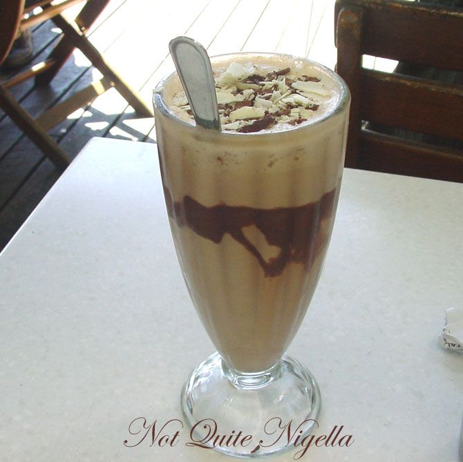 Lindt Chocolat Café at Darling Harbour Iced chocolate