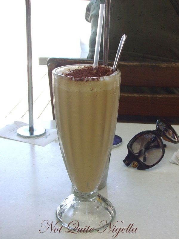 Lindt Chocolat Café at Darling Harbour Iced Coffee
