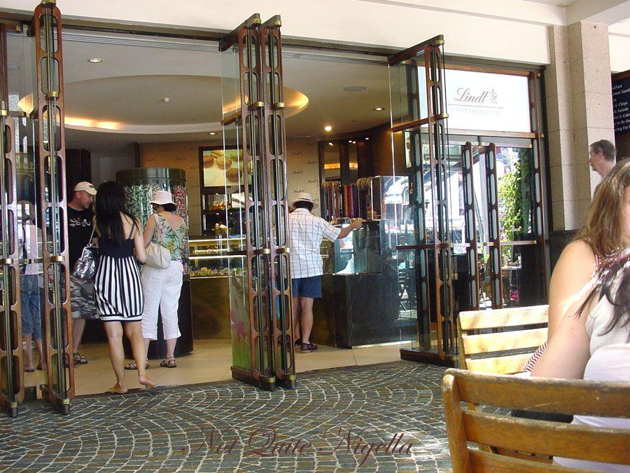 Lindt Chocolat Café at Darling Harbour