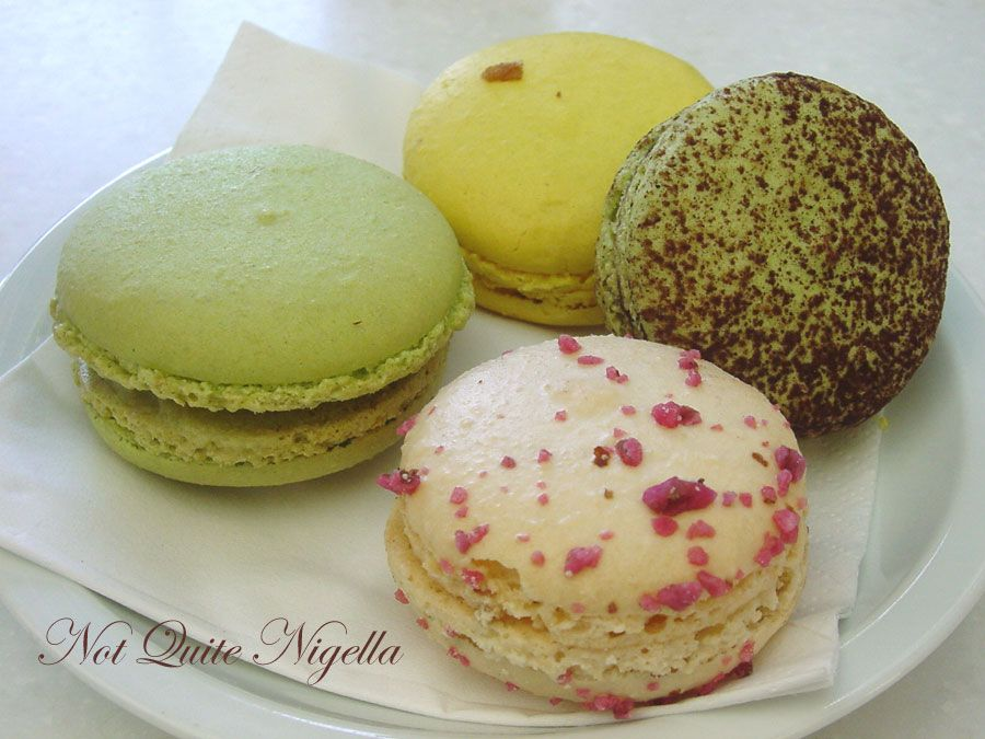 Lindt Chocolat Café at Darling Harbour macarons delices