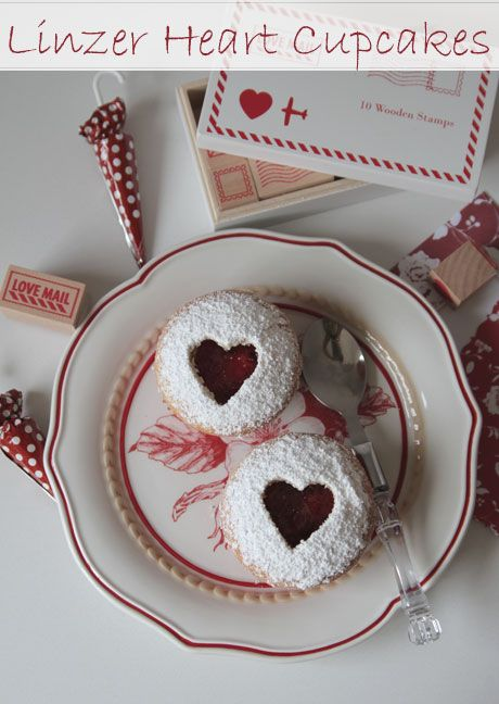 linzer-cupcakes