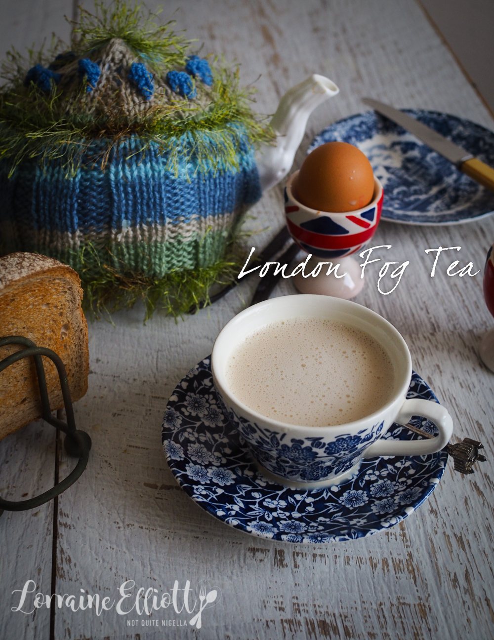 London Fog Tea Syrup Recipe