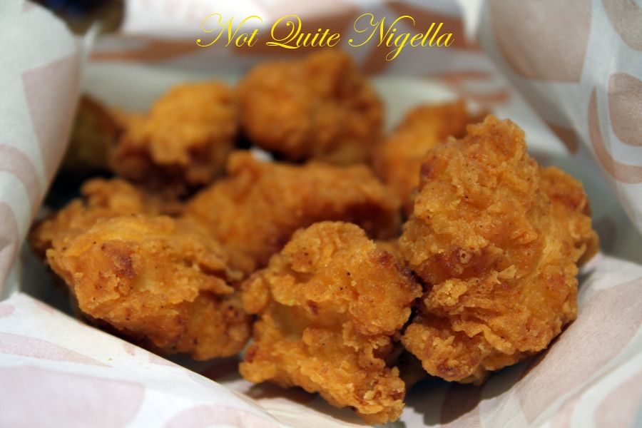 Lotteria Burger chicken bites