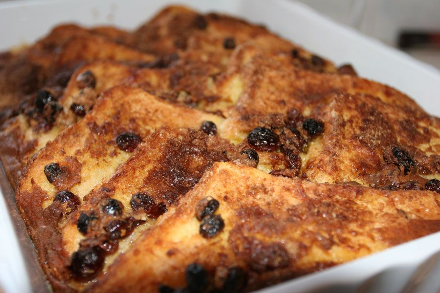 Bread & Butter pudding - just out of the oven