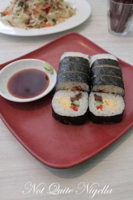 love grub, alexandria, review, egg roll