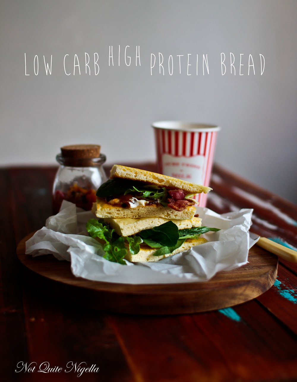 Low Carb High Protein Bread
