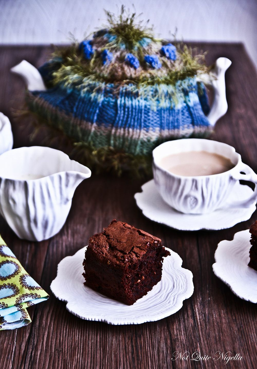 low fat chocolate brownies
