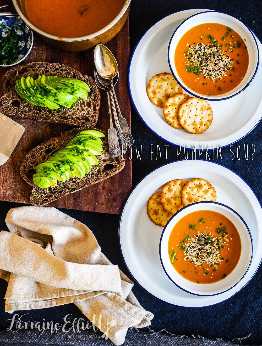 Thai Style Low Fat Pumpkin Soup