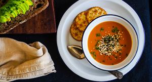Thai Style Low Fat Pumpkin Soup!